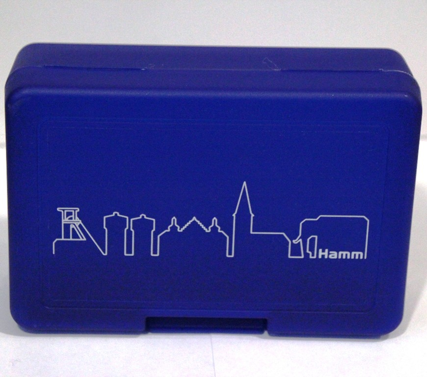 Lunch-Box mit Motiv Skyline